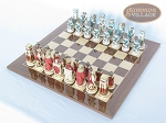 picture of Egyptian Chessmen with Spanish Lacquered Board [Wood] (2 of 8)