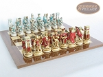 picture of Egyptian Chessmen with Spanish Lacquered Board [Wood] (5 of 8)