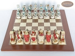 picture of Egyptian Chessmen with Spanish Traditional Chess Board [Large] (3 of 8)