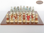 picture of Egyptian Chessmen with Spanish Traditional Chess Board [Large] (4 of 8)