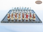 picture of Egyptian Chessmen with Italian Lacquered Board [Black] (4 of 8)