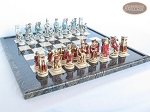 picture of Egyptian Chessmen with Italian Lacquered Board [Black] (5 of 8)