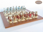 picture of Egyptian Chessmen with Spanish Traditional Chess Board [Extra Large] (5 of 8)