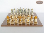 picture of The Battle of Kazan Chessmen with Spanish Lacquered Board [Wood] (4 of 8)