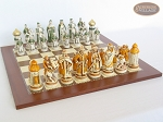 picture of The Battle of Kazan Chessmen with Spanish Traditional Chess Board [Large] (5 of 8)