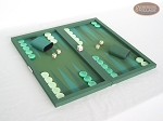picture of Dal Negro Backgammon Set - Green Cialux (2 of 9)