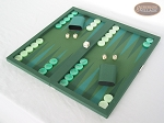 picture of Dal Negro Backgammon Set - Green Cialux (3 of 9)