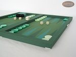 picture of Dal Negro Backgammon Set - Green Cialux (6 of 9)