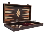 picture of 19-inch Wood Backgammon Set - Wenge with Printed Field (9 of 11)