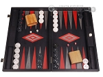 Argento Backgammon Set - Large - Black Field - Item: 3136