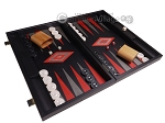 picture of Argento Backgammon Set - Large - Black Field (2 of 12)
