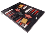 picture of Argento Backgammon Set - Large - Black Field (3 of 12)