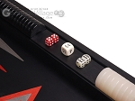 picture of Argento Backgammon Set - Large - Black Field (7 of 12)