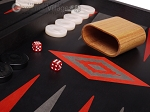 picture of Argento Backgammon Set - Large - Black Field (8 of 12)