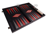 picture of Argento Backgammon Set - Large - Black Field (9 of 12)