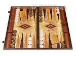 Olive Root Backgammon Set - Large - Olive Root Field - Item: 3898