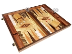 picture of Olive Root Backgammon Set - Large - Olive Root Field (2 of 11)