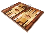 picture of Olive Root Backgammon Set - Large - Olive Root Field (3 of 11)
