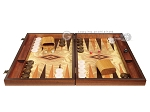 picture of Olive Root Backgammon Set - Large - Olive Root Field (4 of 11)