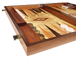 picture of Olive Root Backgammon Set - Large - Olive Root Field (5 of 11)