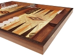 picture of Olive Root Backgammon Set - Large - Olive Root Field (6 of 11)