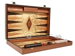 picture of Olive Root Backgammon Set - Large - Olive Root Field (9 of 11)