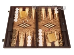 Walnut Root Backgammon Set - Large - Walnut Root Field - Item: 3897