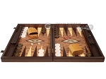 picture of Walnut Root Backgammon Set - Large - Walnut Root Field (4 of 11)