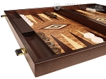 picture of Walnut Root Backgammon Set - Large - Walnut Root Field (5 of 11)