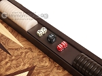 picture of Walnut Root Backgammon Set - Large - Walnut Root Field (7 of 11)