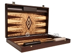picture of Walnut Root Backgammon Set - Large - Walnut Root Field (9 of 11)