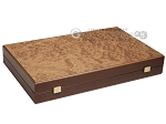 picture of Walnut Root Backgammon Set - Large - Walnut Root Field (10 of 11)