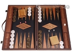 Laurel Backgammon Set - Large - Black Field - Item: 3137