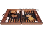 picture of Laurel Backgammon Set - Large - Black Field (4 of 12)