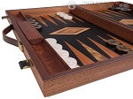 picture of Laurel Backgammon Set - Large - Black Field (5 of 12)
