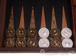 picture of Laurel Backgammon Set - Large - Black Field (8 of 12)