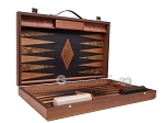 picture of Laurel Backgammon Set - Large - Black Field (10 of 12)