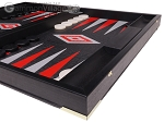 picture of Leatherette Backgammon Set - Large - Black Croco Field (6 of 12)