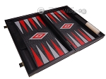 picture of Leatherette Backgammon Set - Large - Black Croco Field (9 of 12)