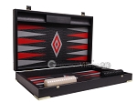 picture of Leatherette Backgammon Set - Large - Black Croco Field (10 of 12)