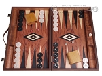 Rosewood Backgammon Set - Large - Rosewood Field - Item: 3138