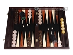 picture of Palisander Backgammon Set with Racks - Beveled Edge (1 of 12)