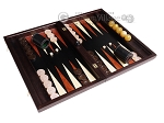 picture of Palisander Backgammon Set with Racks - Beveled Edge (2 of 12)