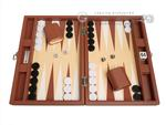 13-inch Premium Backgammon Set - Desert Brown