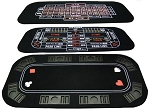 3-In-1 Poker & Casino Folding Table Top - Item: 2600