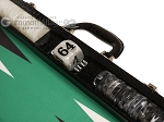 picture of Wycliffe Brothers® Tournament Backgammon Set - Black with Green Field - Gen III (7 of 12)