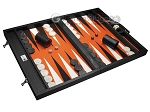 picture of Wycliffe Brothers® Tournament Backgammon Set - Black Croco (2 of 12)