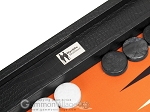 picture of Wycliffe Brothers Tournament Backgammon Set - Black Croco (8 of 12)