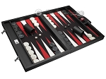 picture of Wycliffe Brothers® Tournament Backgammon Set - Black with Black Field - Gen I (2 of 12)