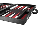 picture of Wycliffe Brothers Tournament Backgammon Set - Black-Black (6 of 12)